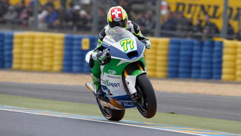 Dominique Aegerter, Technomag-CIP, Le Mans QP