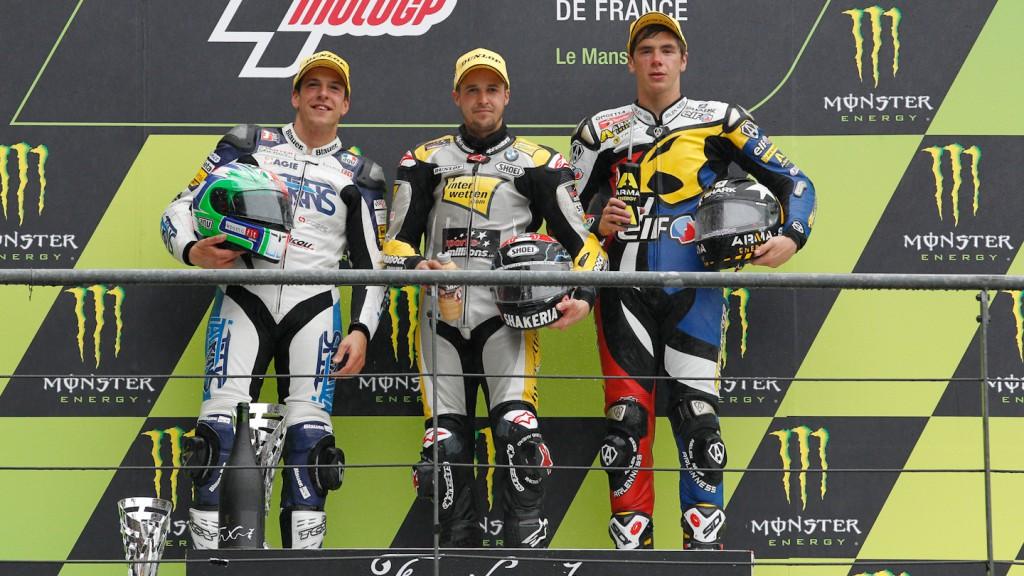 Corti, Luthi, Redding, Italtrans Racing Team, Interwetten-Paddock, Marc VDS Racing Team, Le Mans RAC
