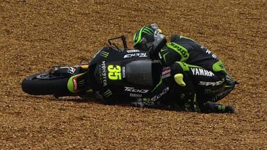 Le Mans 2012 - MotoGP - Race - Action - Cal Crutchlow - Crash