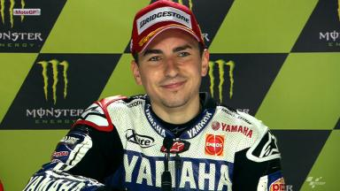 Le Mans 2012 - MotoGP - Race - Interview - Jorge Lorenzo