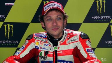 Le Mans 2012 - MotoGP - Race - Interview - Valentino Rossi