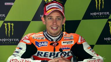 Le Mans 2012 - MotoGP - Race - Interview - Casey Stoner