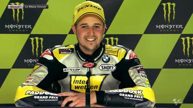 Le Mans 2012 - Moto2 - Race - Interview - Thomas Luthi