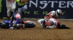 Le Mans 2012 - Moto3 - Race - Action - Danny Webb - Crash