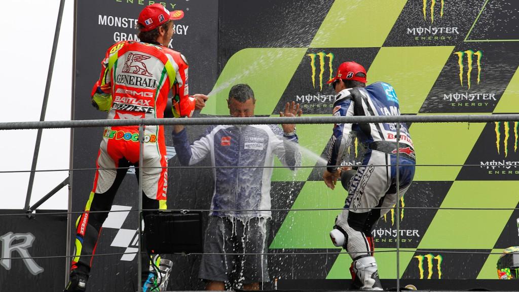 MotoGP Podio RAC