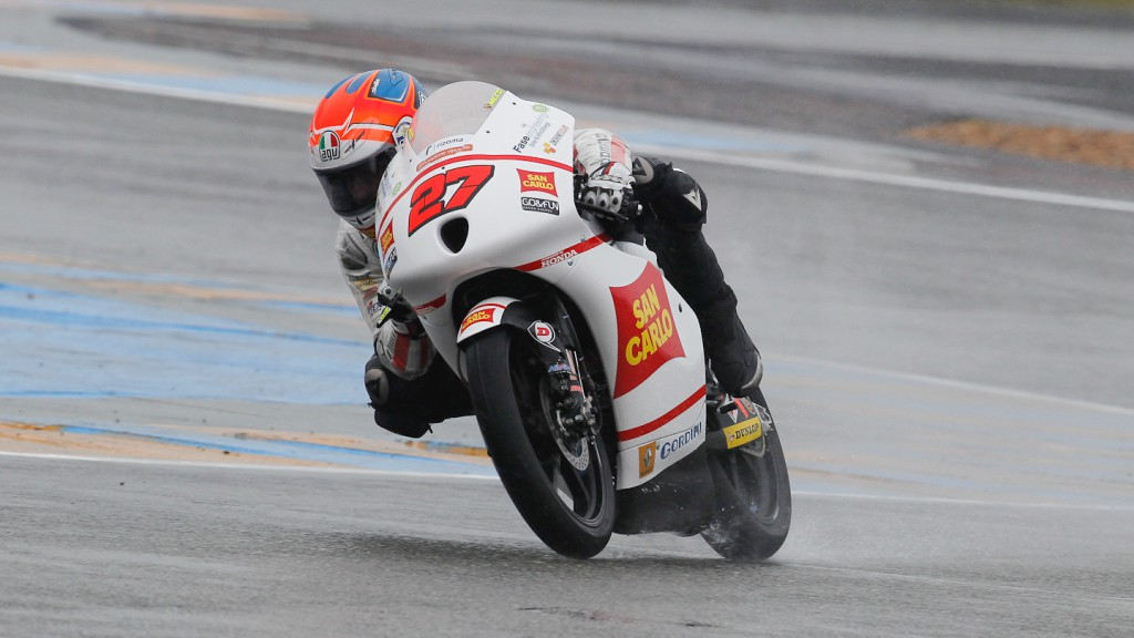 Antonelli Niccolo, San Carlo Honda Gresini Moto3, Le Mans RAC