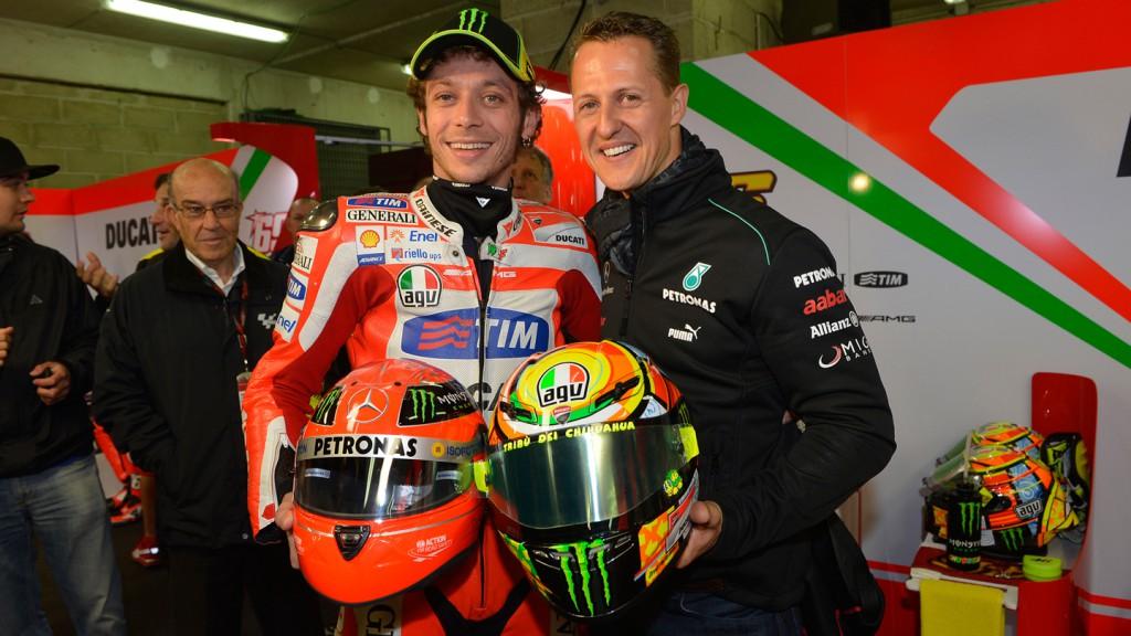 Valentino Rossi, Michael Schumacher, Ducati Team, Le Mans