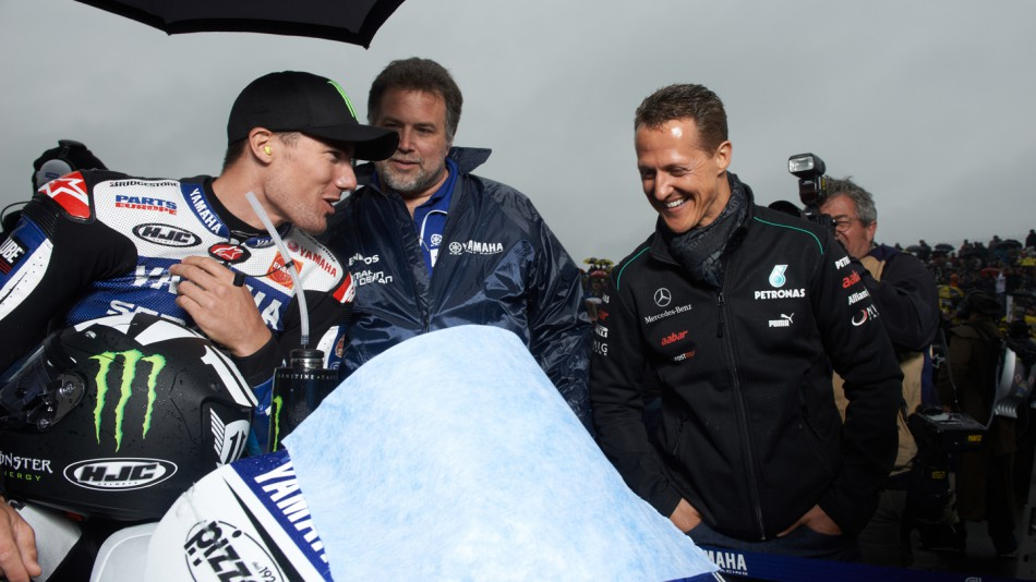 Ben Spies, Michael Schumacher, Yamaha Factory Racing, Le Mans