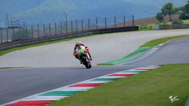 Rossi and Hayden back on track for private Mugello Test