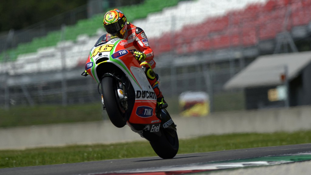 Valentino Rossi, Ducati Team, Mugello Test