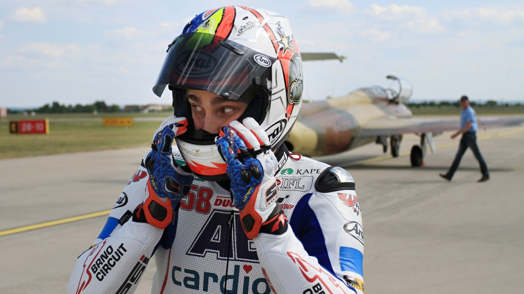 Karel Abraham, Cardion AB Motoracing, Brno International Airport