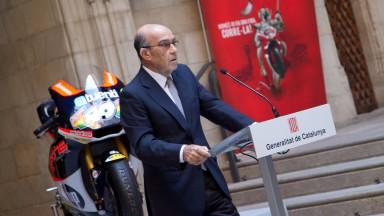 Dorna Sports CEO, Carmelo Ezpeleta, Gran Premi Aperol de Catalunya Presentation