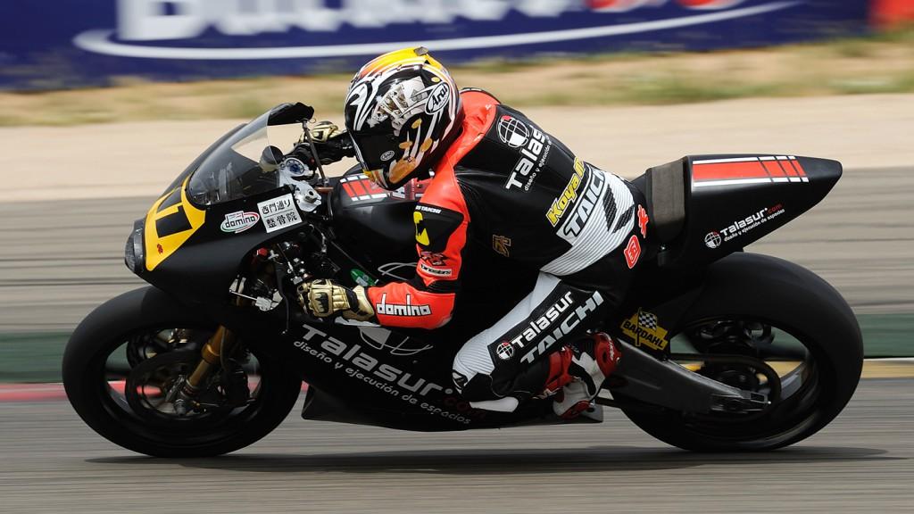 Tomoyoshi Koyama, H43 Team Nobby Talasur, CEV Motorland Aragon RAC