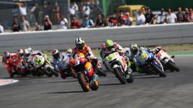 It took Valentino Rossi just one week to bounce back from his Indianapolis disappointment with brilliant win at Misano on Sunday.