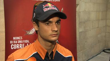 Pedrosa determined for first win