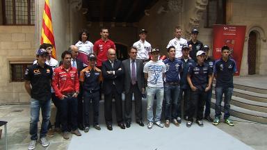 Official launch presentation of the Gran Premi Aperol de Catalunya