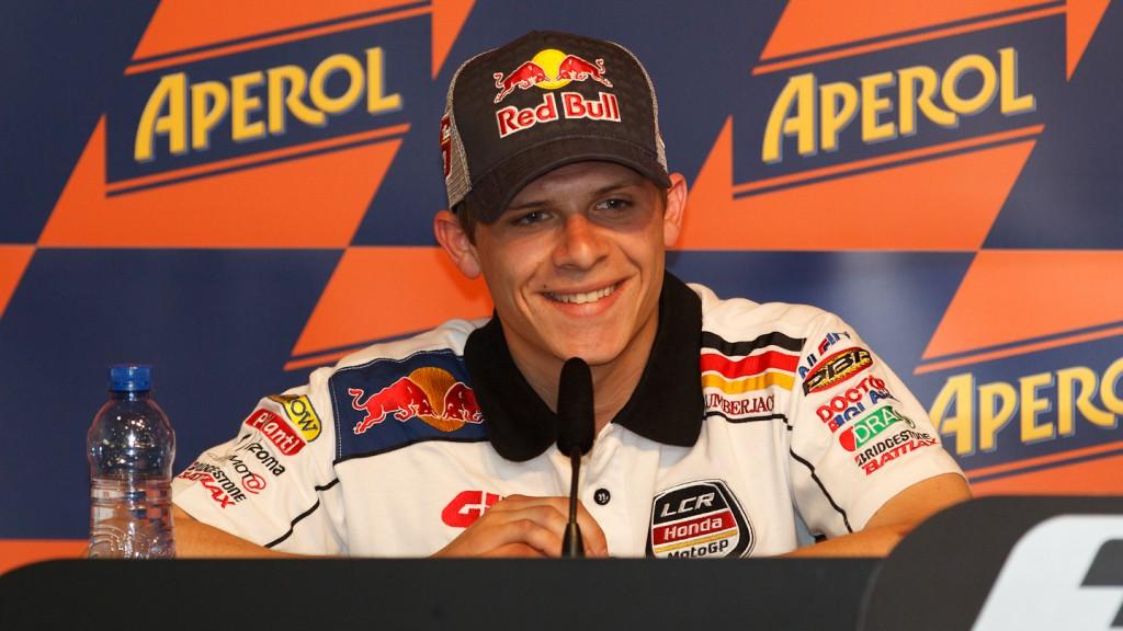 Stefan Bradl, LCR Honda MotoGP, Gran Premi Aperol de Catalunya Press Conference