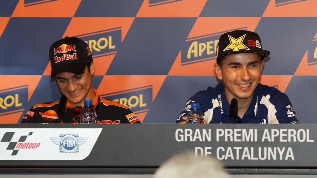 Pedrosa, Lorenzo, Repsol Honda Team, Yamaha Factory Racing, Gran Premi Aperol de Catalunya Press Conference