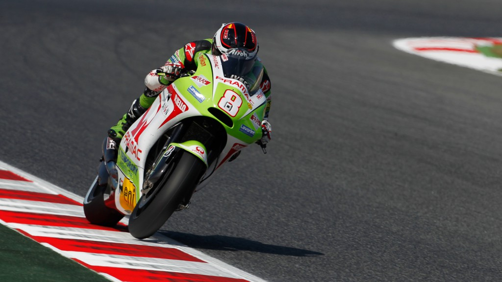 Hector Barbera, Pramac Racing Team, Catalunya Circuit FP2