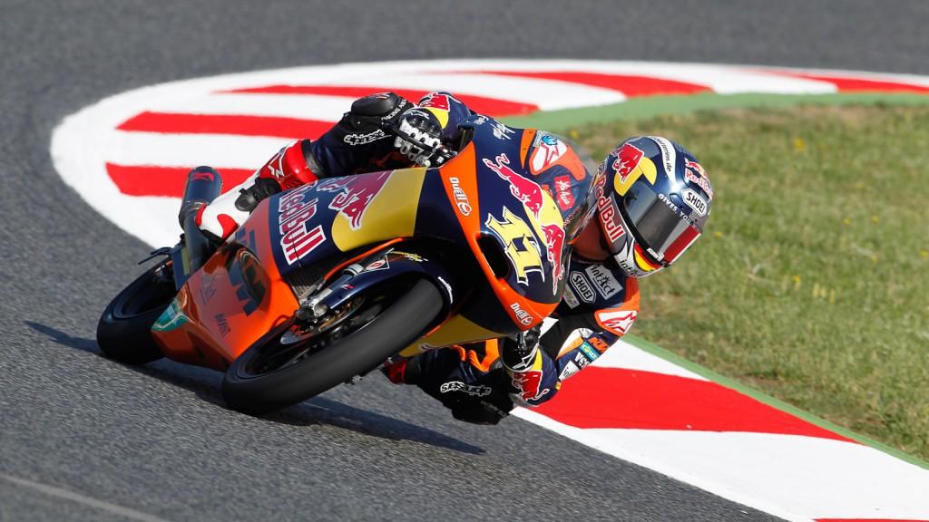 Sandro Cortese, Red Bull KTM Ajo, Catalunya Circuit FP1