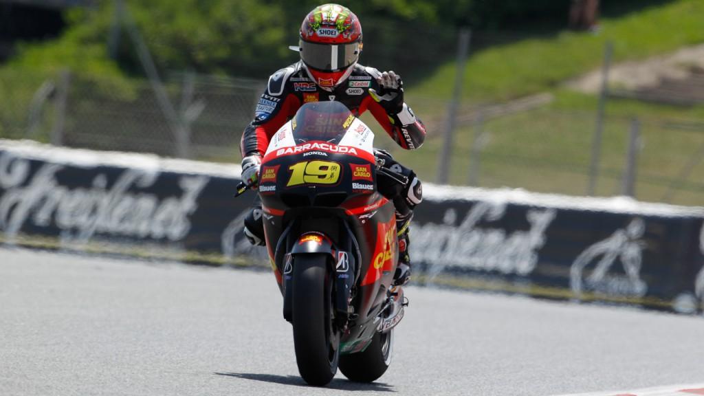 Alvaro Bautista, San Carlo Honda Gresini, Catalunya Circuit FP2