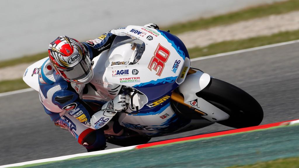 Takaaki Nakagami, Italtrans Racing Team, Catalunya Circuit FP2