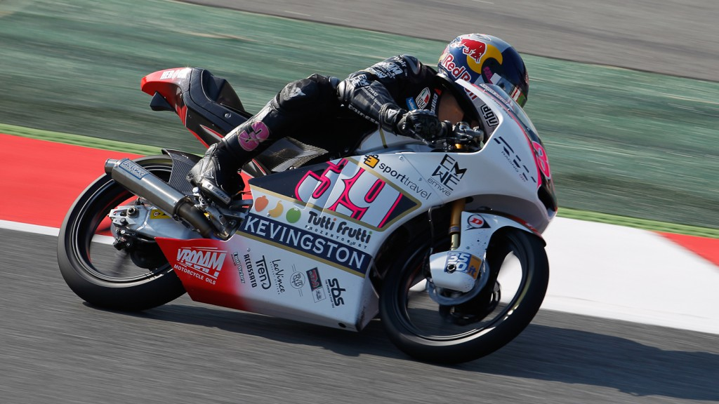 Luis Salom, RW Racing GP, Catalunya Circuit FP2
