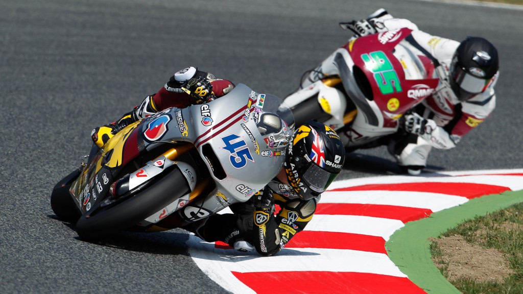 Scott Redding, marc VDS Recing Team, Catalunya Circuit FP1