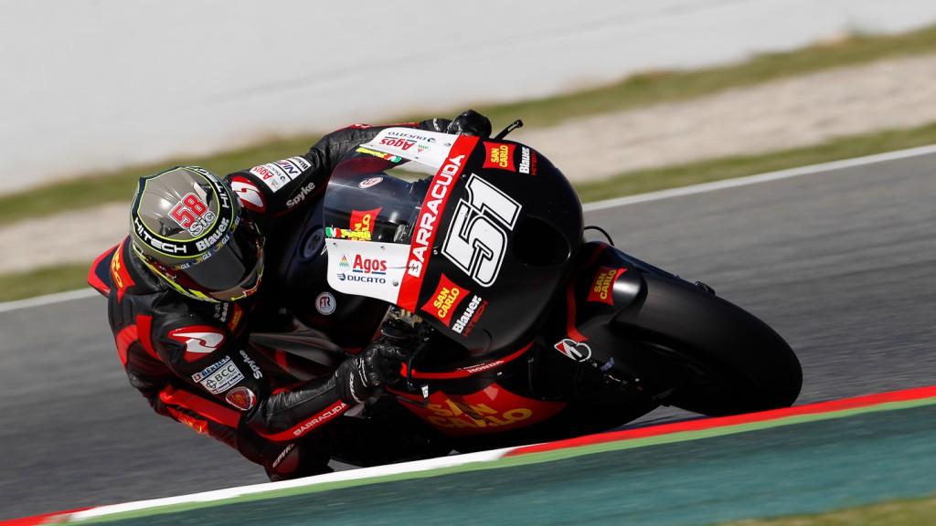 Michele Pirro, San Carlo Honda Gresini, Catalunya Circuit FP2