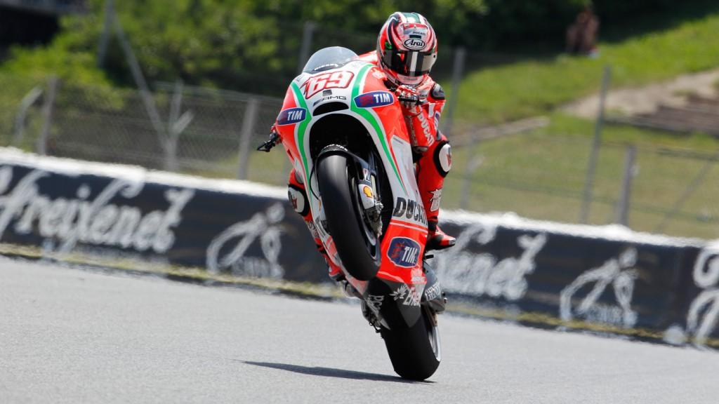 Nicky Hayden, Ducati Team, Catalunya Circuit FP2