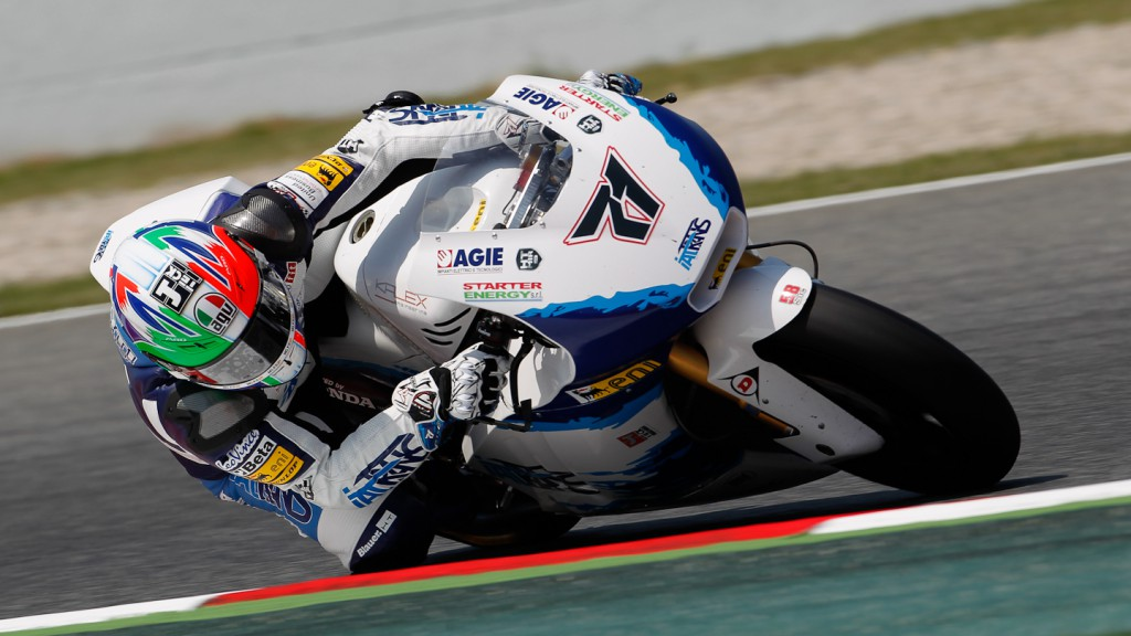 Claudio Corti, Italtrans Racing Team, Catalunya Circuit FP2
