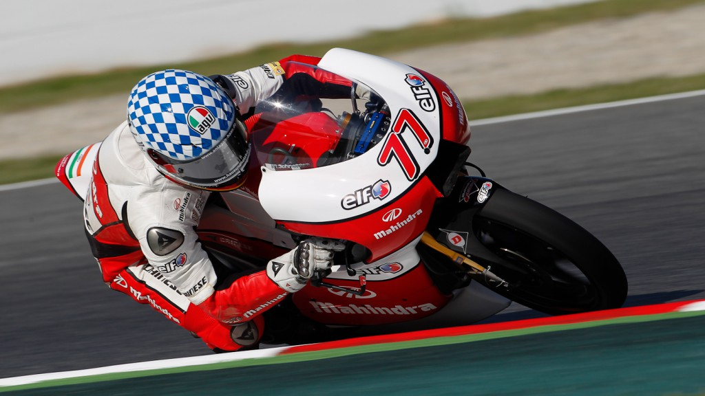 Marcel Schrotter, Mahindra Racing, Catalunya Circuit FP2