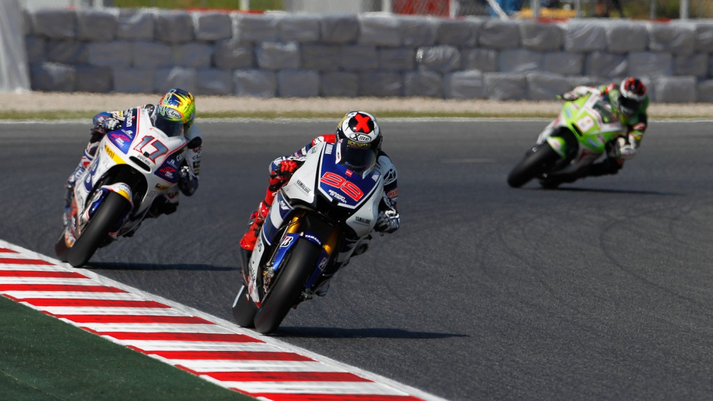 Jorge Lorenzo, Yamaha Factory Racing, Catalunya Circuit FP1