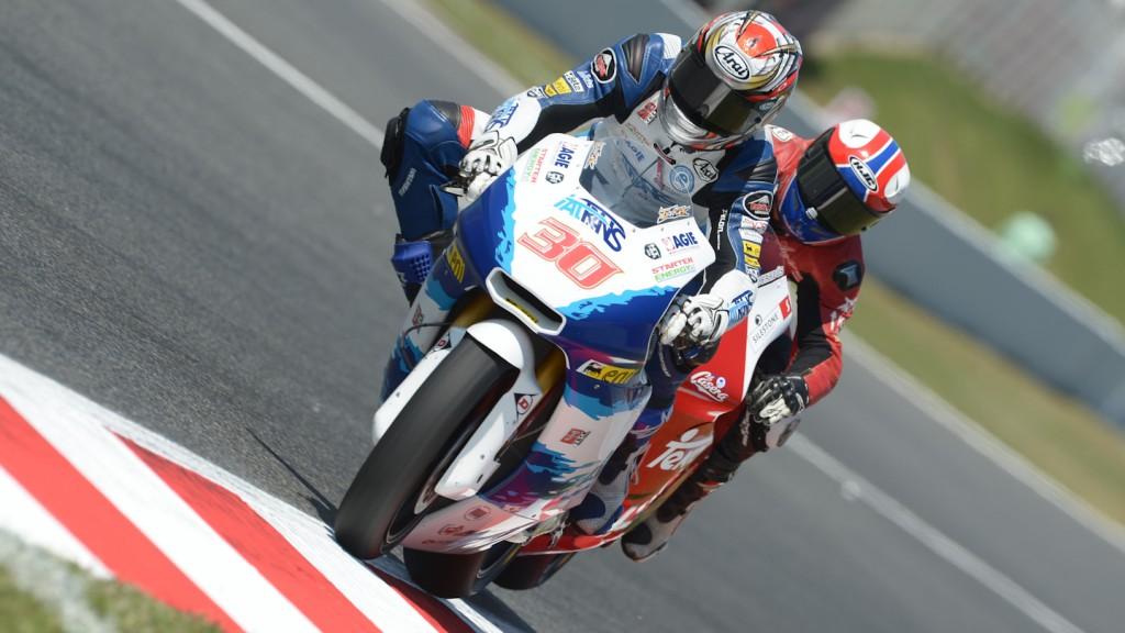 Takaaki Nakagami, Ricky Cardus, Italtrans Racing Team, Arguiñano Racing Team, Catalunya Circuit QP