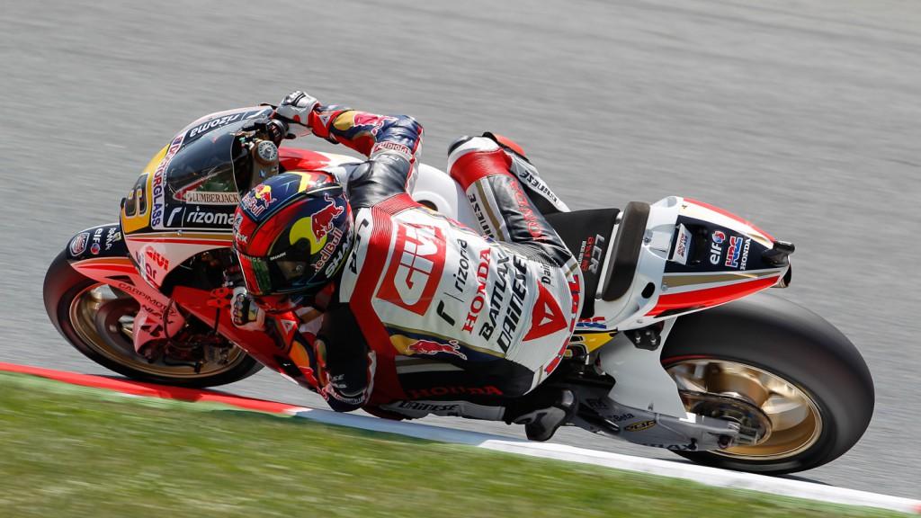 Stefan Bradl, LCR Honda MotoGP, Catalunya Circuit QP