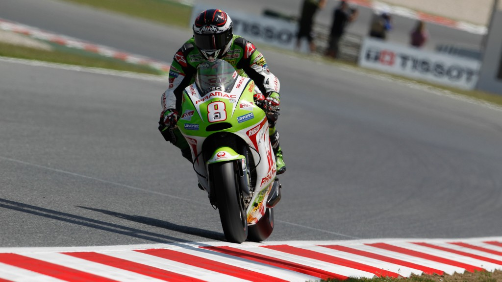 Hector Barbera, Pramac Racing Team, Catalunya Circuit QP