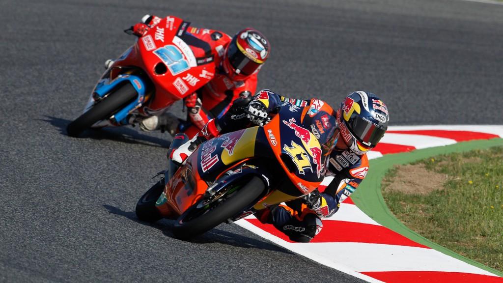 Sandro Cortese, Red Bull KTM Ajo, Catalunya Circuit FP3