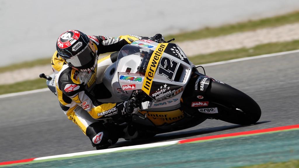 Thomas Luthi, Interwetten-Paddock, Catalunya Circuit FP3