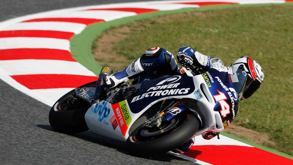 Randy de Puniet, Power Electronics Aspar, Catalunya Circuit QP