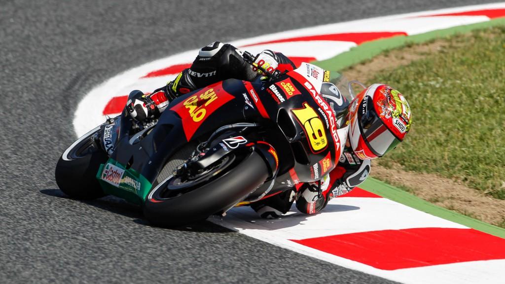 Alvaro Bautista, San Carlo Honda Gresini, Catalunya Circuit QP