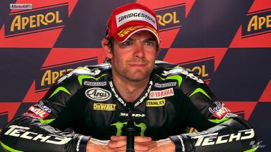 Catalunya 2012 - MotoGP - QP - Interview - Cal Crutchlow