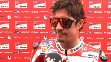 Hayden expects a hard race tomorrow