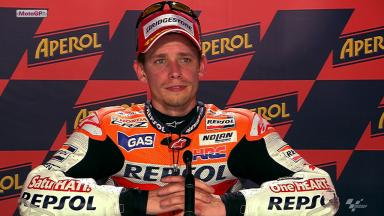 Catalunya 2012 - MotoGP - QP - Interview - Casey Stoner