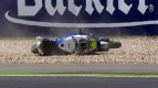 Catalunya 2012 - Moto2 - FP3 - Action - Julian Simon - Crash