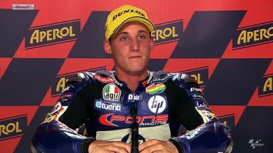 Catalunya 2012 - Moto2 - QP - Interview - Pol Espargaro