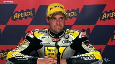 Catalunya 2012 - Moto2 - QP - Interview - Thomas Luthi