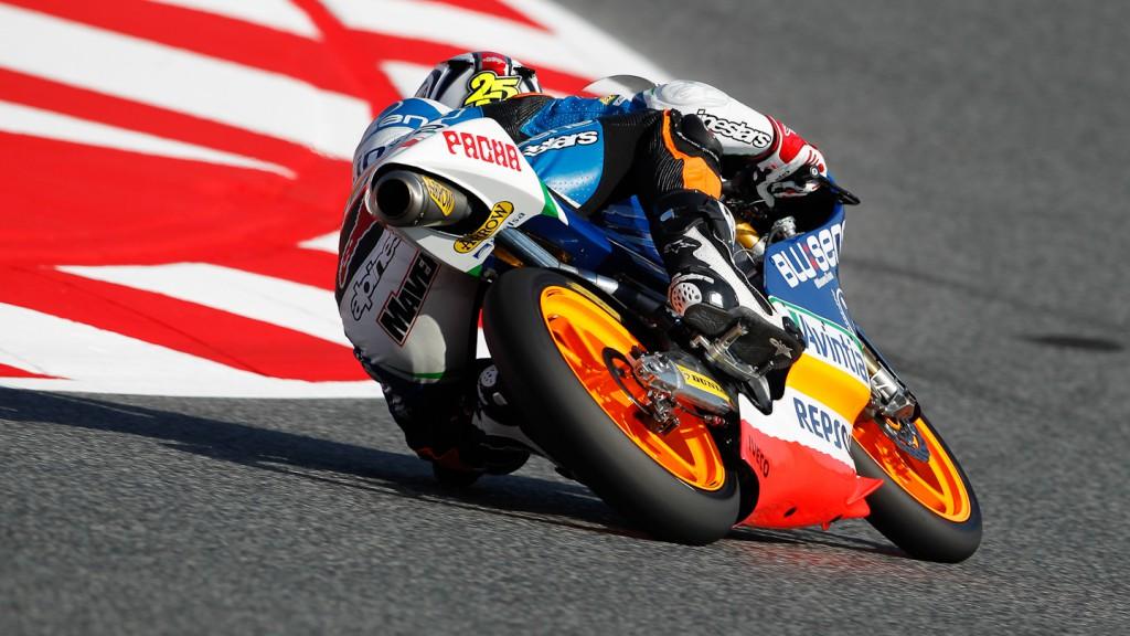 Maverick Viñales, Blusens Avintia, Catalunya Circuit FP3