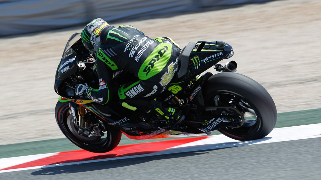 Cal Crutchlow, Monster Yamaha Tech 3, Catalunya Circuit FP3