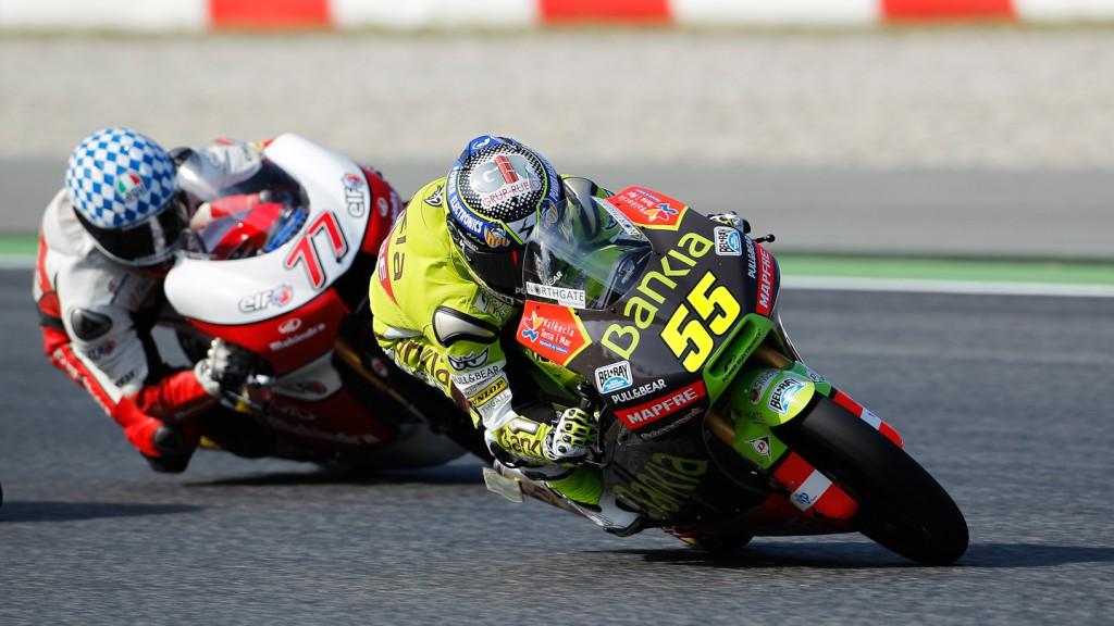 Hector Faubel, Bankia Aspar Team, Catalunya Circuit QP
