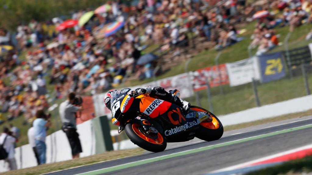Marc Marquez, Team CatalunyaCaixa Repsol, Catalunya Circuit QP